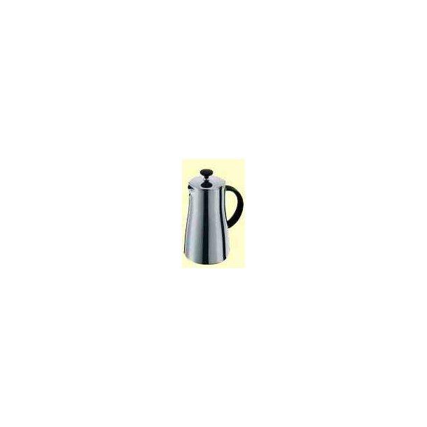 Kaffebrygger Arabica, 8 kop, 1.0 L blank krom