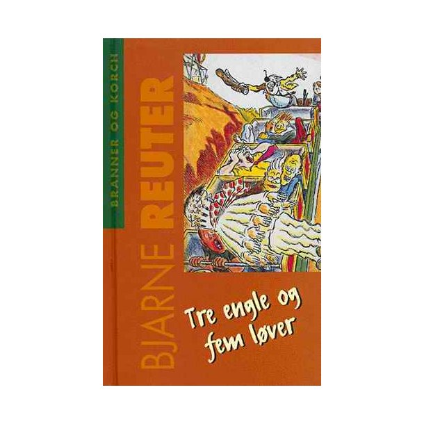 Tre engle og fem løver ( bog )