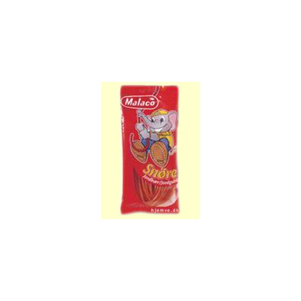 Malaco Jordbærsnører, 94 gram