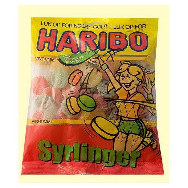 Haribo Syrlinger, 120 gram