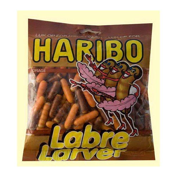 Haribo Labre Larver, 140 gram