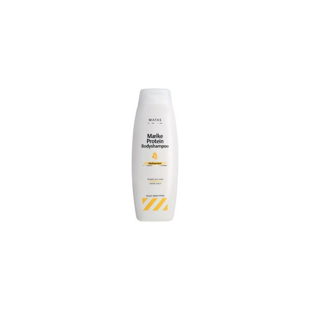 Bodyshampoo med mælkeprotein, 750 ml