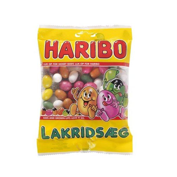 Haribo Lakridsæg, 120 gram