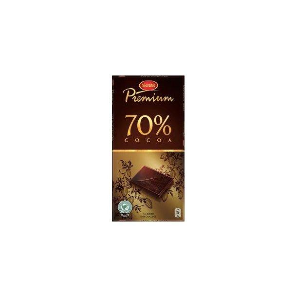 Marabou Chokolade Premium 70% Kakao, 100 gram