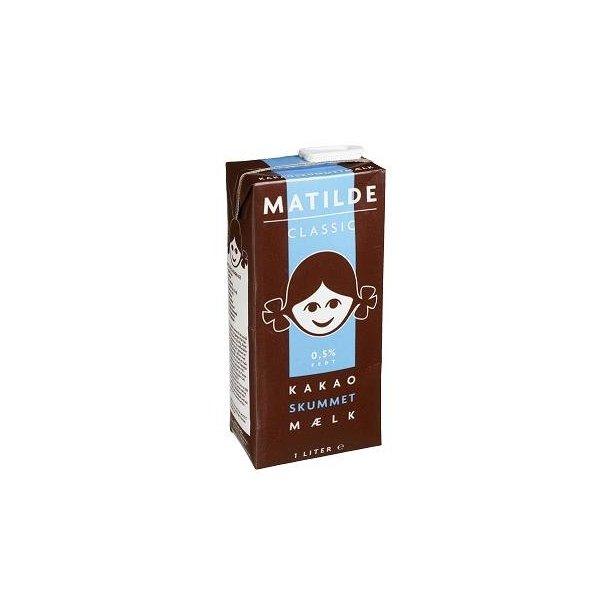 Mathilde Classic Kakaoskummetmælk, 1 liter
