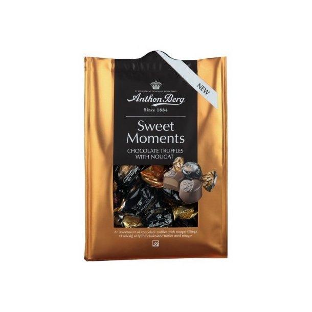 Anthon Berg Sweet Moments Chokolade trøfler med nougat, 157 gram