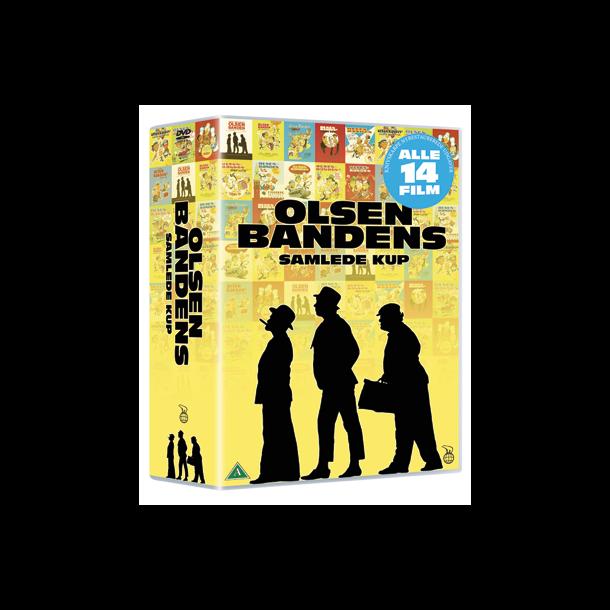 Olsen Banden Samlede kup Boks med 14 film. Blu-ray.