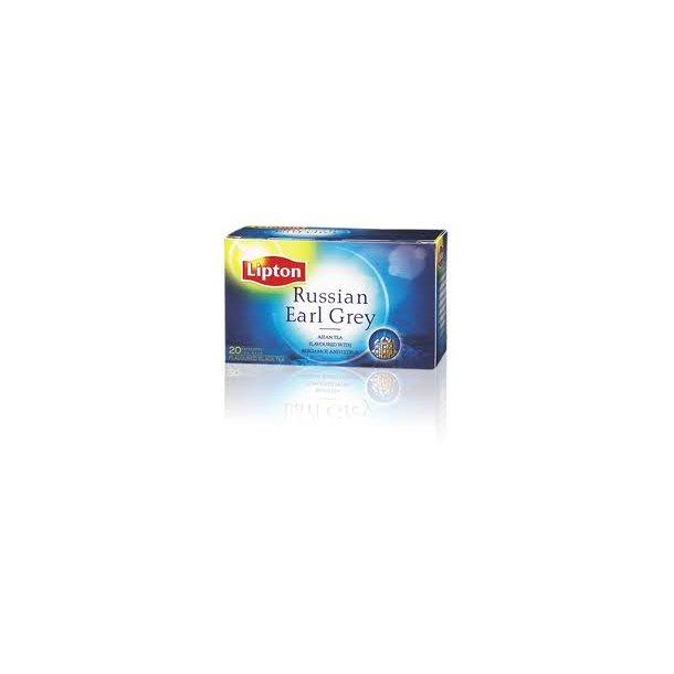 Lipton Russian Earl Grey Tea, 20 x 2 grams poser