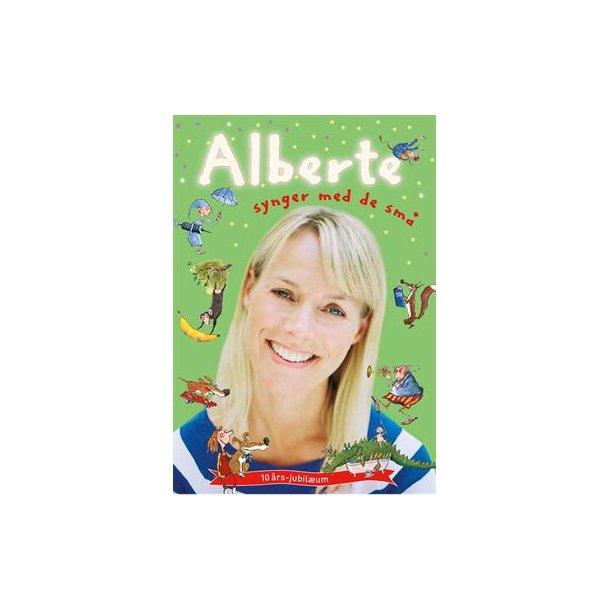 Alberte synger med de små ( bog + CD )