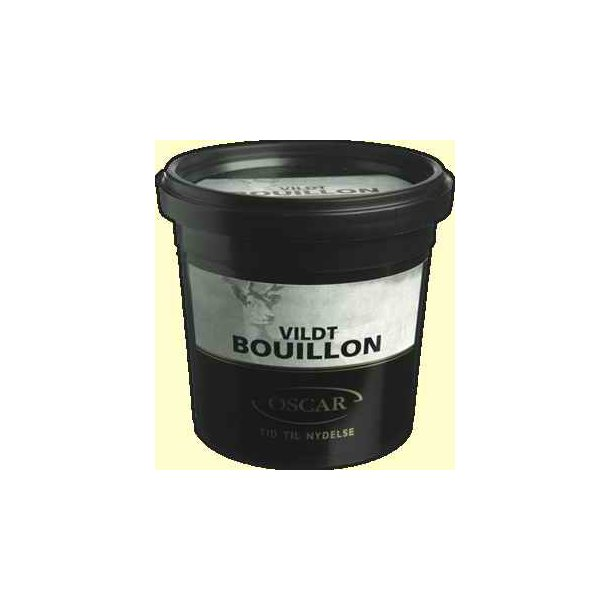 Vildtbouillon Oscar, granulat til 3 liter sauce