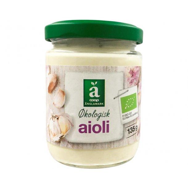 Aioli økologisk fra Änglamark, 135 gram