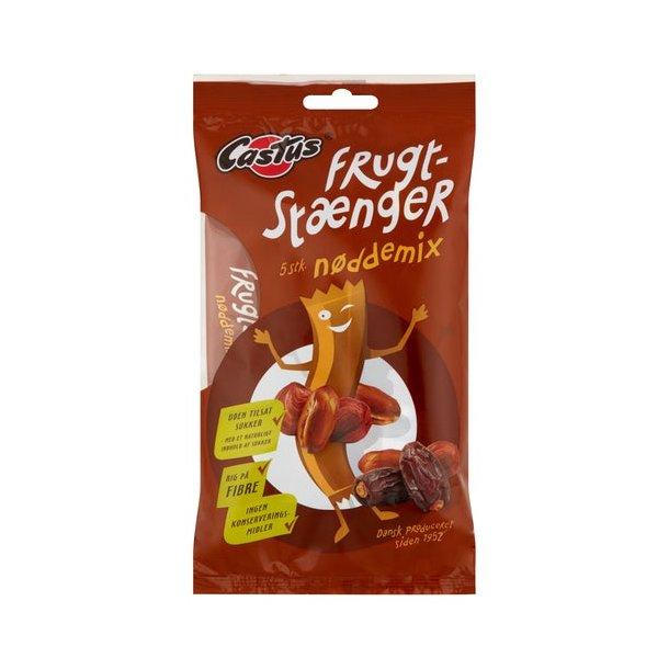 Castus Frugtstænger (figenstænger) med nøddemix, 5 x 25 gram