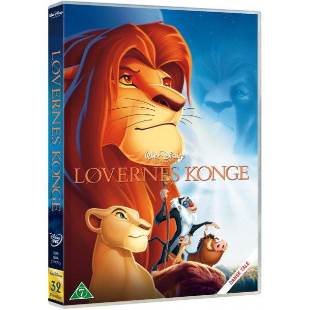 Disney Løvernes Konge på DVD