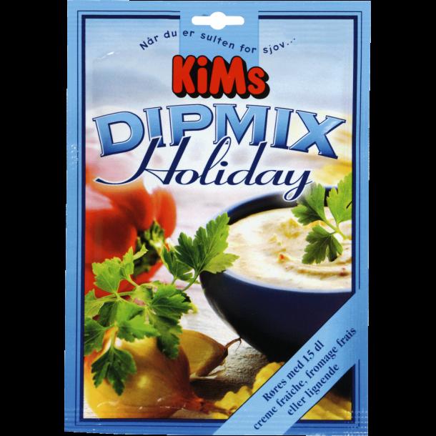 Kims Dipmix, Holiday