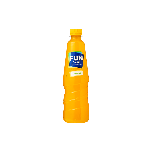 Fun Light Ananas, 0,5l.