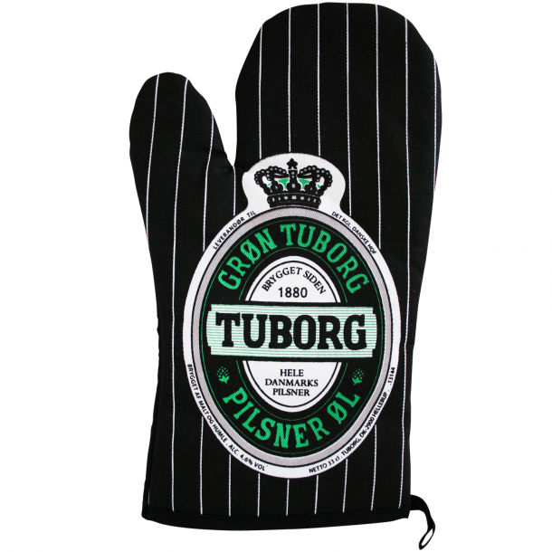 Grillhandske med Tuborg Logo