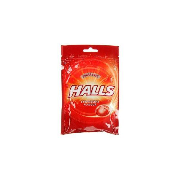 Halls sukkerfri bolsjer, jordbær 65g