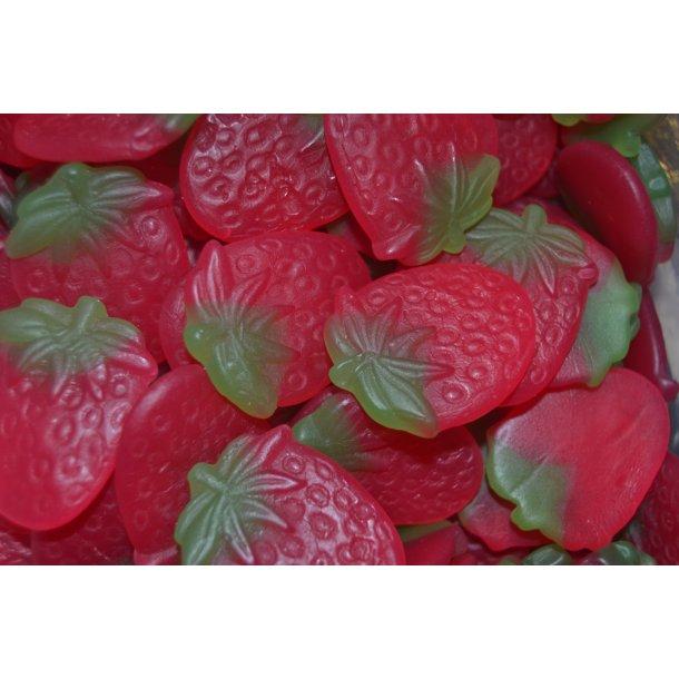 Haribo Vingummi Jordbær 450 stk 2,7 kg