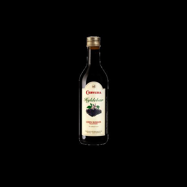 Hyldebærsaft Sukkerfri fra Cervera. 0,35L