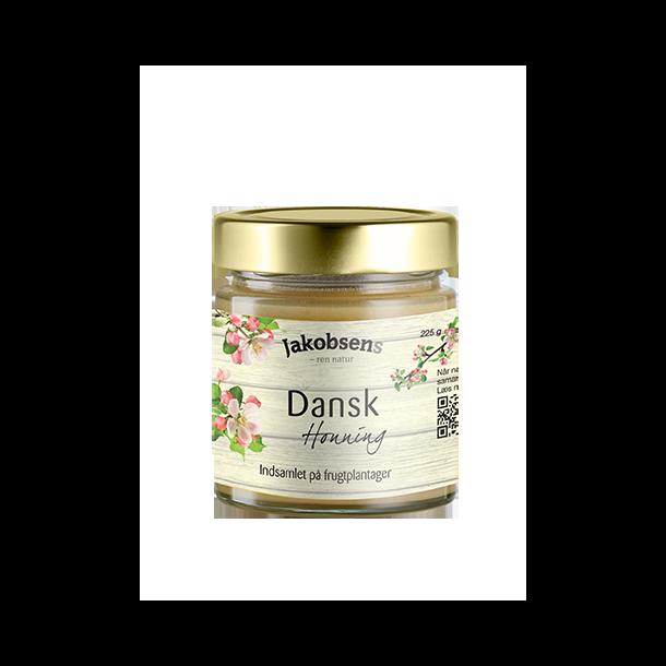 Honning dansk fra Jacobsen, 225g.