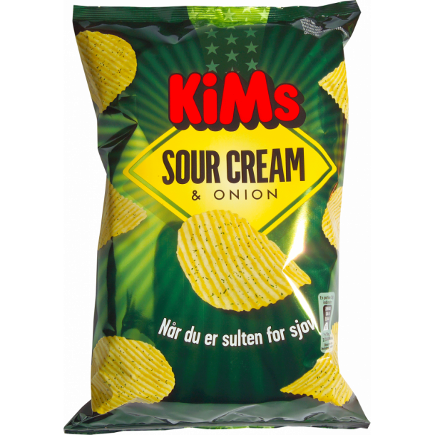 Kims Sour Cream & Onion, 175g