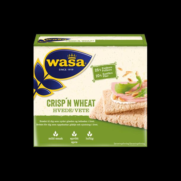 Wasa Knækbrød Crisp´n Wheat, 110g