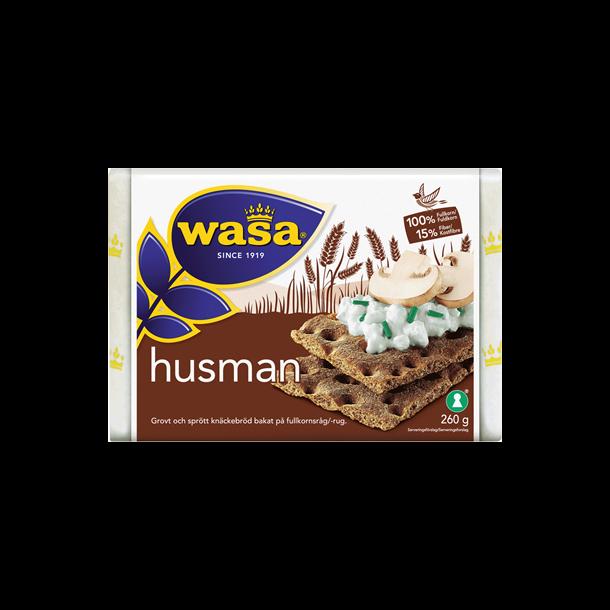 Wasa Knækbrød Husman, 260g