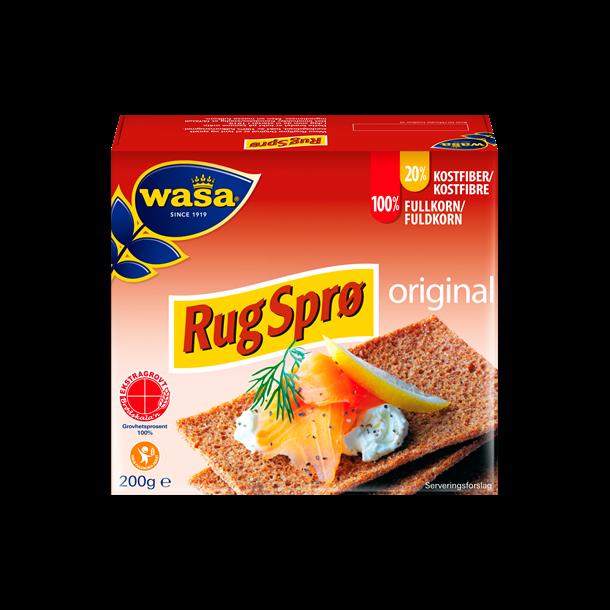 Wasa Rug Sprø, 200g