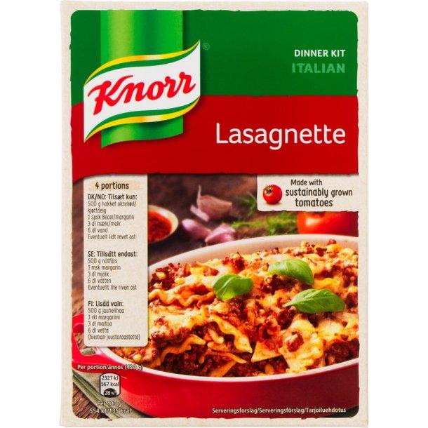 Lasagnette, Knorr 3 - 4 portioner
