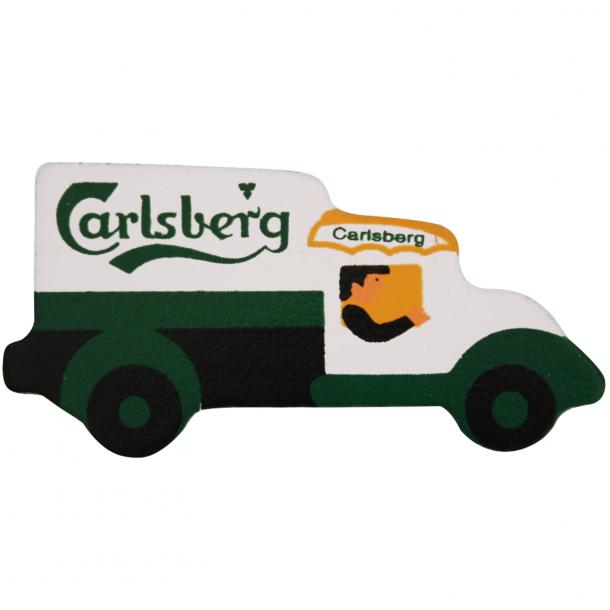 Magnet med Carlsberg ølbil.