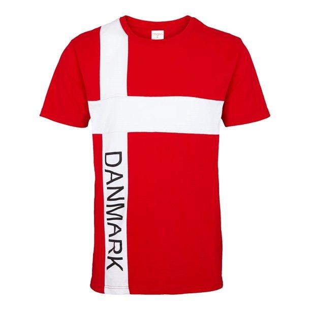 Danmark t-shirt, str. XL