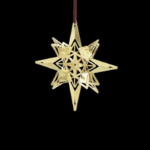 Rosendahl Stjerneophæng, forgyldt, 13 cm.