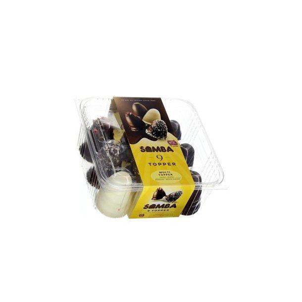 Samba Multi Topper flødeboller, 9 stk.