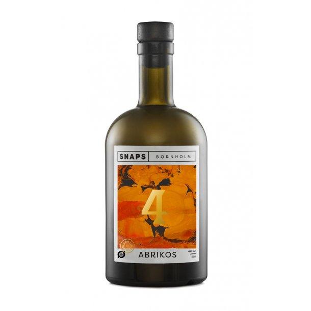 Snaps Bornholm Nr. 4 Limited edition med Abrikos, 40%, 50cl.