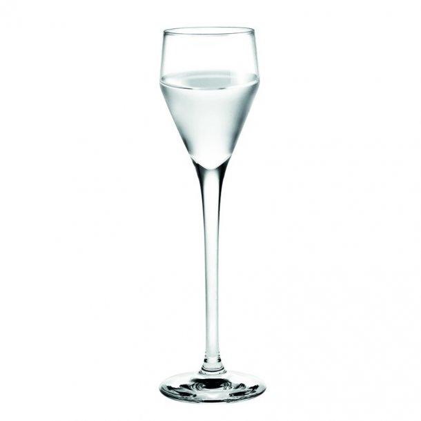 Snapseglas fra Holmegaard Perfection, 2 styk.