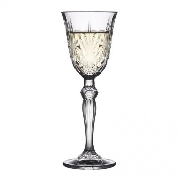 Snapseglas, Lyngby Melodia, 6 styks.