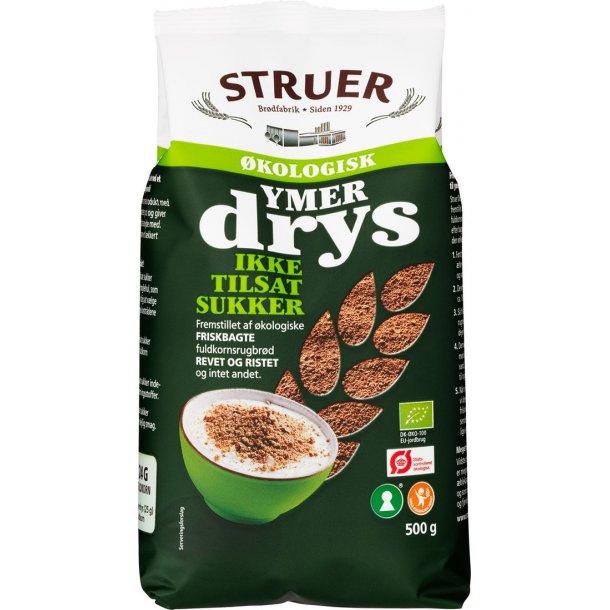 Struer Økologisk Ymerdrys uden sukker, 500g