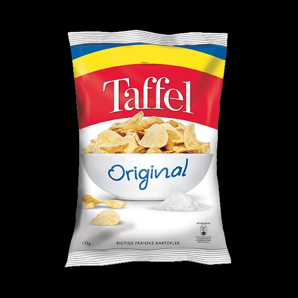 Taffel Chips Original, 175g