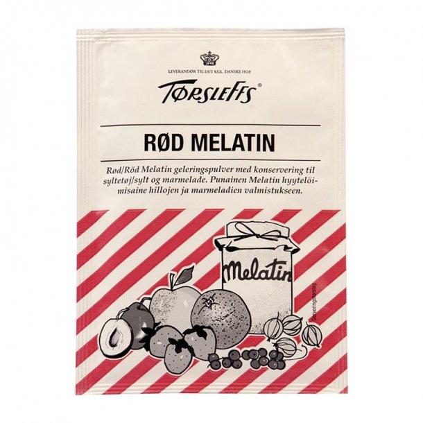 Tørsleffs geleringspulver til marmelade 20g, Rød Melatin.