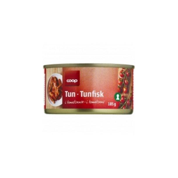 Tun i tomat, Coop ( 2 dåser )