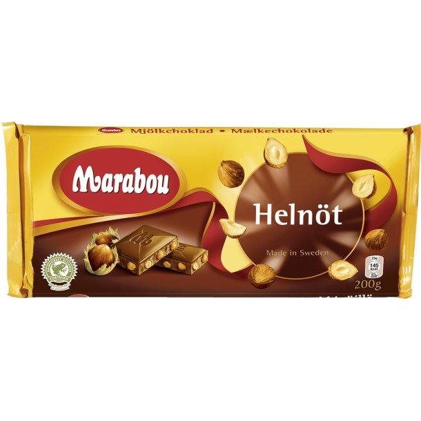 Marabou Helnød, 200 gram