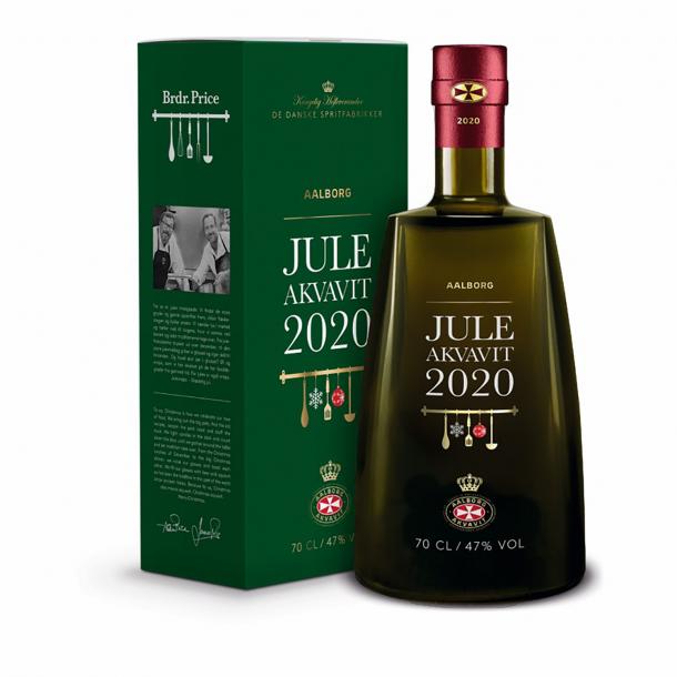 Aalborg Jule Akvavit 2020, 0,7L.