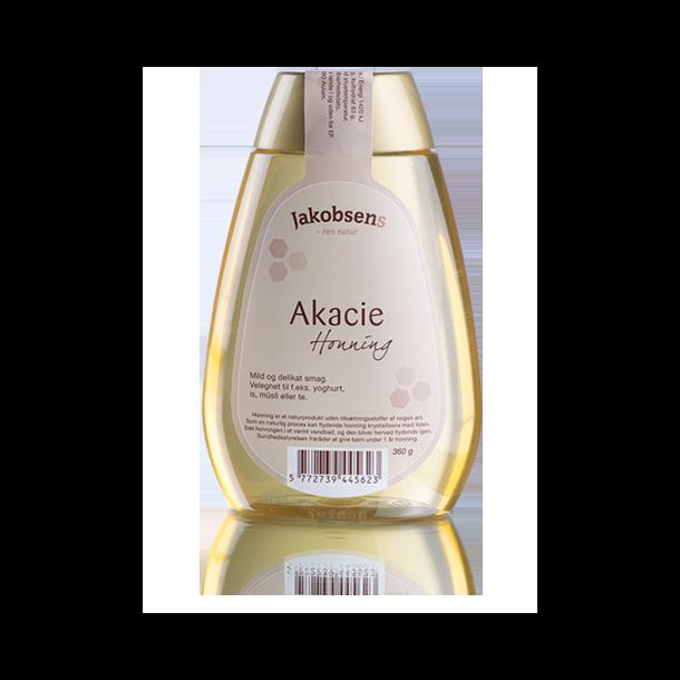 Honning Acacie, Jakobsen, 360 gram