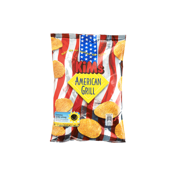 Kims Chips American Grill 175g