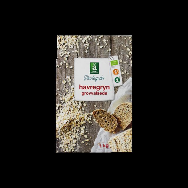 Havregryn økologiske grovvalsede, Änglamark 1000 gram