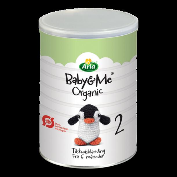 Baby and Me 2 modermælkserstatning, fra 6mdr. 600g.