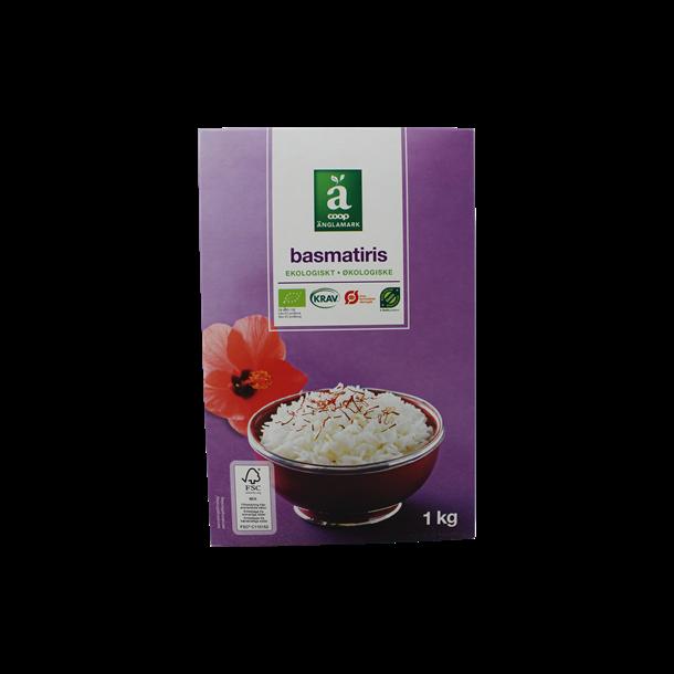 Ris Basmati økologiske, 1kg, Änglamark