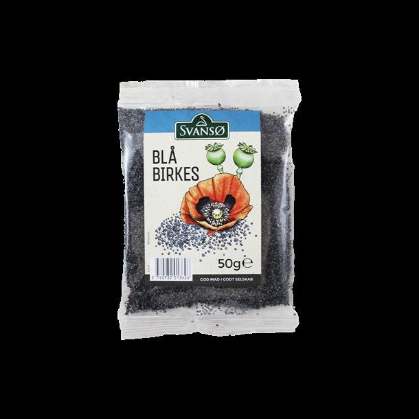 Birkes fra Svansø, blå 50 gram