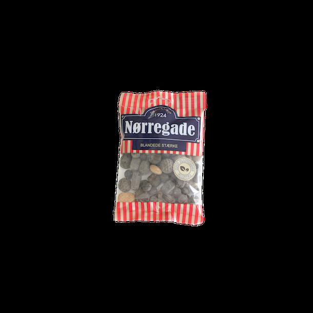 Nørregade blandede stærke, 140 gram(Bonbons, mixed, Nørregade)