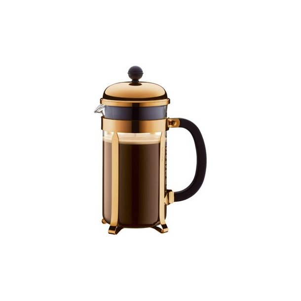 Bodum Chambord kaffebrygger kobber, 0,35L/3 kopper